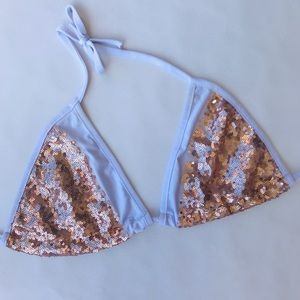 Other - Triangular Sequin Bikini Top